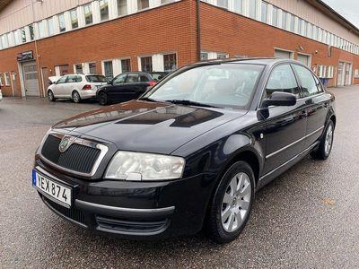 begagnad Skoda Superb 2.8 V6 AUT 193hk 14200mil Elegance