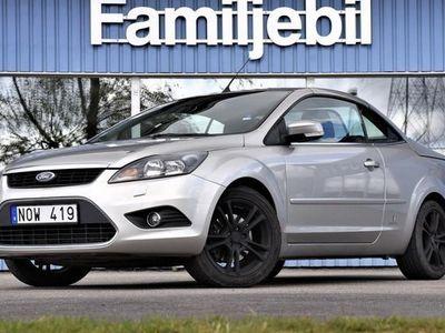 begagnad Ford Focus Cabriolet 2.0 Cab Skinnklädsel Dragkrok 17 tum 2010, 57 700 kr