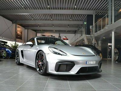 begagnad Porsche 718 Spyder Skalstolar Plus 215mil 420hk