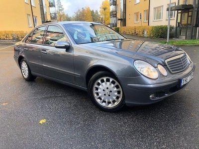 begagnad Mercedes E200 Kompressor Classic 163hk