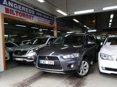 begagnad Mitsubishi Outlander 2.4 E85 4WD 170hk 0%Ränta
