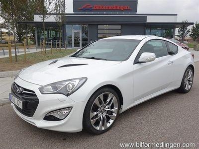 begagnad Hyundai Coupé Genesis3.8 V6 347hk Automat Svensksåld Skinn