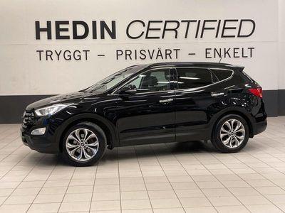 begagnad Hyundai Santa Fe 2.2 CRDi 4WD, DRAG, BACKKAMERA 2015, SUV 169 900 kr