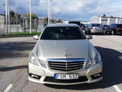begagnad Mercedes E220 CDI AMG Sport