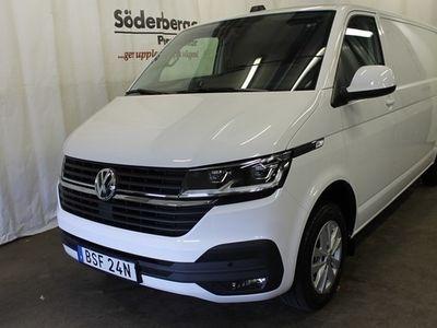 begagnad VW Transporter 6.1 2,0 TDI DSG 340 Lång Värmare & DRag 2020, Transportbil 399 875 kr