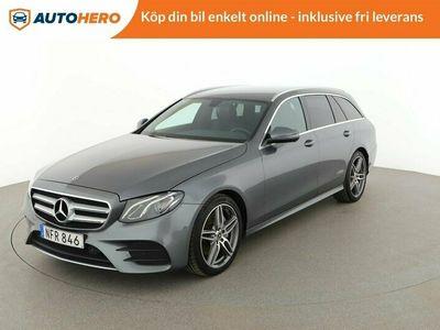 begagnad Mercedes E200 d 9G-Tronic / Dragkrok, Värmare, GPS
