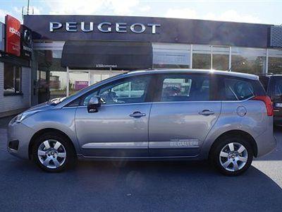begagnad Peugeot 5008 120 hk blueHDi Active Automat f.d tjänstebil 7-sitsig!