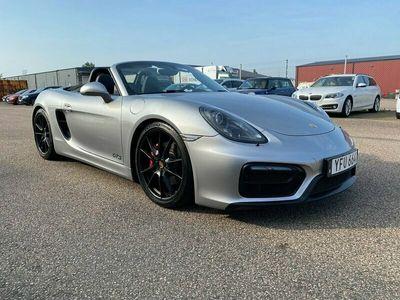 begagnad Porsche Boxster GTS PDK Euro 6 330hk