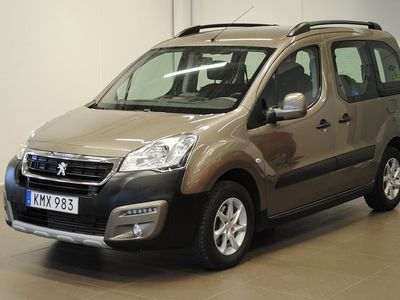 begagnad Peugeot Partner Tepee Outdoor 1.6 BlueHDi 100 ETG6