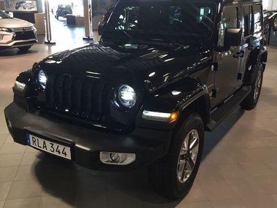 begagnad Jeep Wrangler Unlimited WRANGLER 2.0T GME SAHARA AUTOMAT