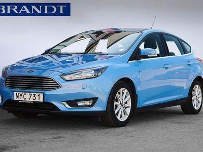 used Ford Focus Titanium 1.0 EcoBoost 100hk 5d -16