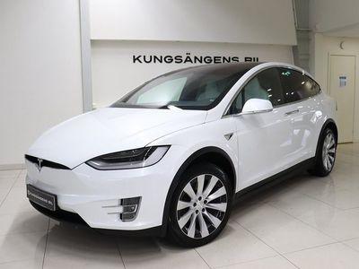 begagnad Tesla Model X Long Range 7-sits 423hk Sv-såld MOMS