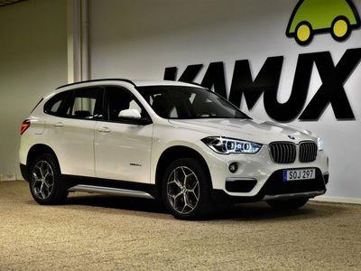 begagnad BMW X1 20d | sDrive | X-Line | S&V-Hjul | 190hk