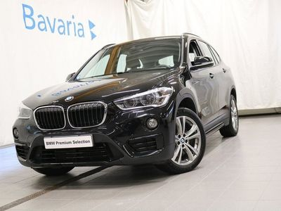 begagnad BMW X1 xDrive20d Sport line Drag Motorvärmare