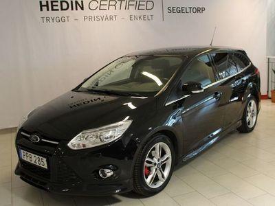 begagnad Ford Focus 1,0 125HK TITANIUM KOMBI S+V-HJUL