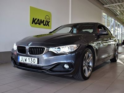 begagnad BMW 420 d xDrive Coupé 184hk Panorama SoV