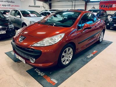 begagnad Peugeot 207 CC NY BES 1.6 VTi 120hk