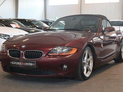 begagnad BMW Z4 2.5i 192hk välvårdad