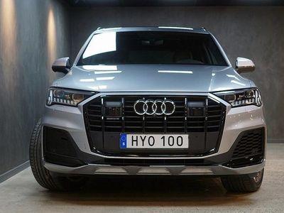 begagnad Audi Q7 50 TDI quattro 286 S-Line 7-sits Panorama Navi