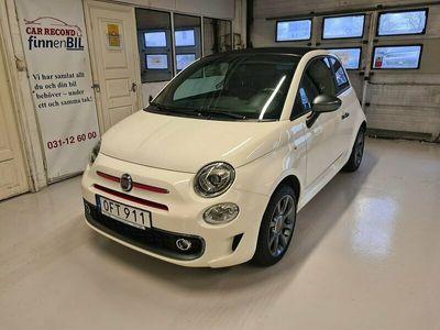 begagnad Fiat 500C Sport 1.2 69 hk Euro 6 Cab