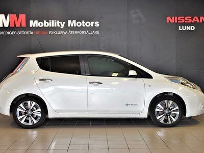 begagnad Nissan Leaf 30 kWh Single Speed 109hk Tekna MY17 BOSE
