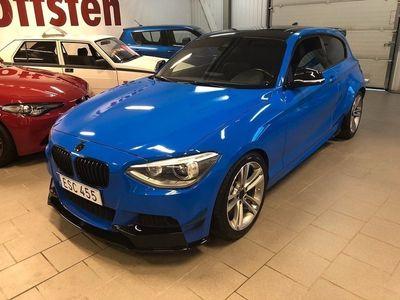 begagnad BMW M135 135 i 3-door Steptronic Luxury Line,