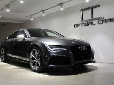 begagnad Audi RS7 Sportback 4.0TFSi Dynamic 560HK Carbon