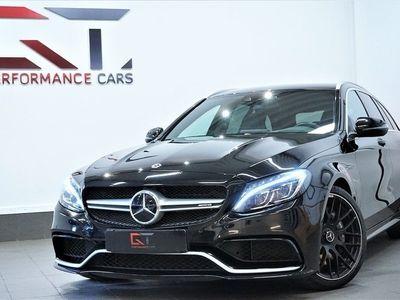 begagnad Mercedes C63 AMG AMGV8 HuD Skalstolar