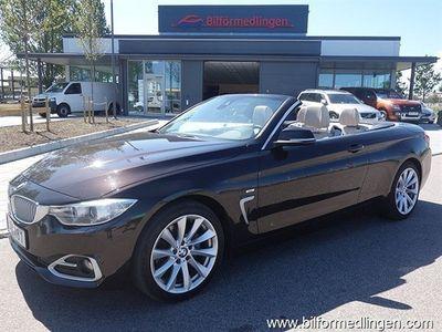 begagnad BMW 420 d Cabriolet Cabriolet, F33 Modern Line Comfort, Navigation, Connected