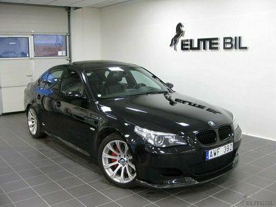 begagnad BMW M5 Sedan V10 507hk Sv.Såld Sportavgassystem Carbon frontläpp