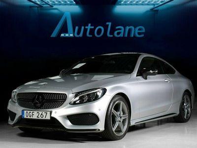 begagnad Mercedes C220 d Coupé AMG Sport Eu6 170hk