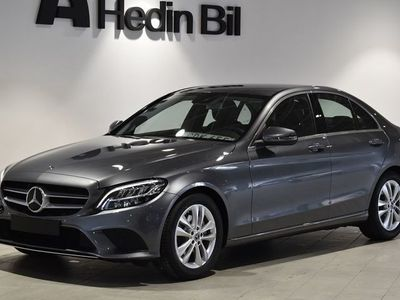 begagnad Mercedes C220 220 d // Demobil // Dragkrok /7 Backkamera