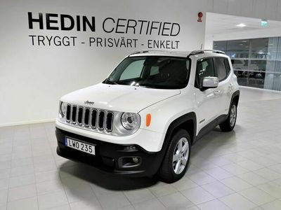 begagnad Jeep Renegade 140hk 4WD Limited *Drag *Auto