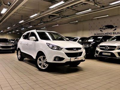 begagnad Hyundai ix35 2.0 4WD 163HK HALVSKINN AUX/IPOD/USB KAMKEDJA