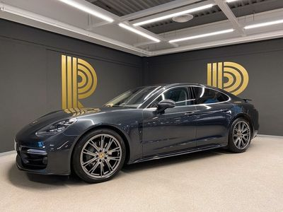 begagnad Porsche Panamera 4S Diesel Sport Chrono (422hk) SE UTR / Sv-såld
