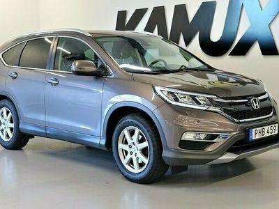 begagnad Honda CR-V 1.6 i-DTEC Elegance Plus 2WD | Navi | 120hk