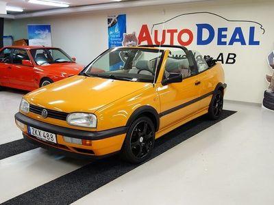 begagnad VW Golf Cabriolet 1.8 90hk