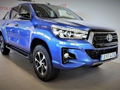 begagnad Toyota HiLux Dubbelhytt 2.4 AWD ULTIMATE AUTO