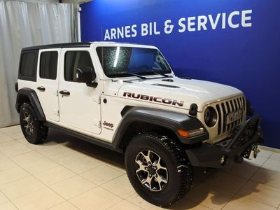 begagnad Jeep Wrangler Unlimited Rubicon 2.0T Automat 2018, SUV Pris 499 750 kr