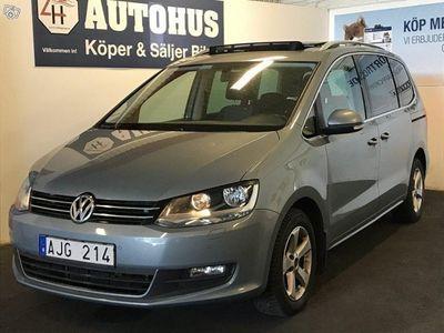 begagnad VW Sharan 2.0 BlueTDI Aut Panorama 7-sits