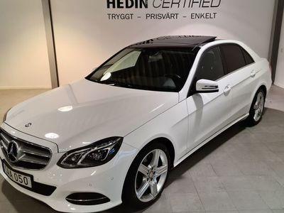 begagnad Mercedes 200 - Benz E - KLASS7G - Tronic / GLASTAK / NAVI
