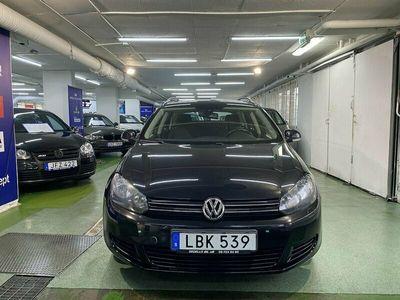 begagnad VW Golf Variant 1.6 TDI BlueMotion DSG Sekventiell Style 105hk
