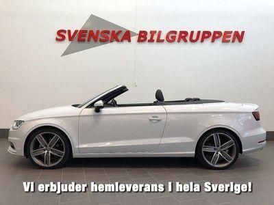 begagnad Audi A3 Cabriolet 1.4 TFSI Aut 150hk B&O Nav