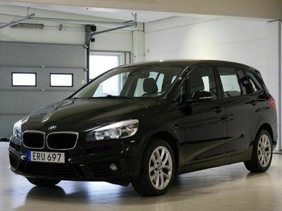 begagnad BMW 220 d Grand Tourer 7-sits Drag Värmare 190hk