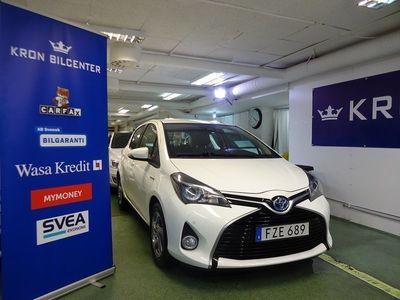 begagnad Toyota Yaris Hybrid 1.5 VVT-i CVT GPS