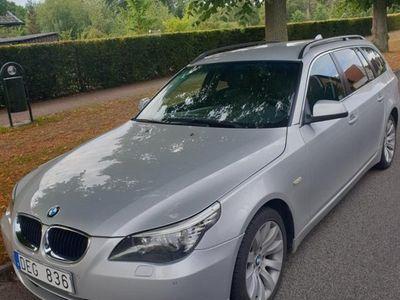 begagnad BMW 520 d Touring GPS Läder