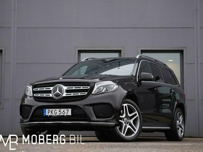 begagnad Mercedes GLS350 d 258hk 4M AMG Sport 7-sits Taklucka