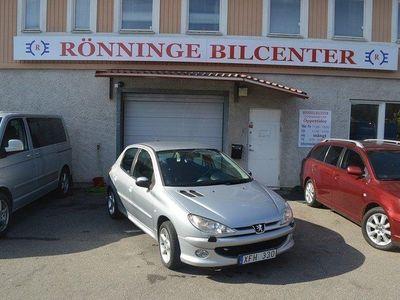 begagnad Peugeot 206 5-dörrar 1.4 XS 75hk Nybes UA Lågmil räntefri