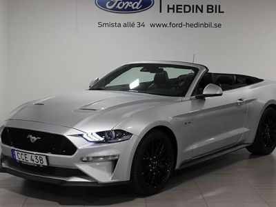 begagnad Ford Mustang GT Convertible 5.0 V8 10-vxl Aut