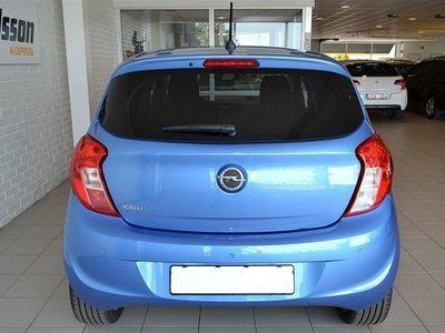 begagnad Opel Karl 1.0 Enjoy m Pluspaket (75hk) med 3-års FRI SERVICE & Intell